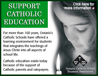 Support Catholic Education - Northeastern Catholic District School Board
